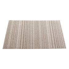 Chilewich Doormats Chilewich Birch Skinny Stripe Door Mat The Container Store