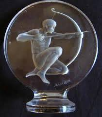 lalique ornament archer 2372 rlalique