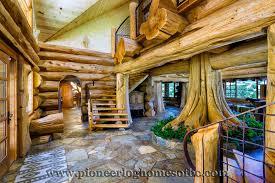 pioneer log homes floor plans custom built luxury pioneer log home for sale in california