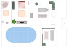 Pictures Of Floor Plans Gym And Spa Area Plans Solution Conceptdraw Com