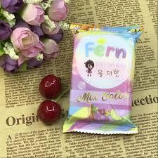 Sabun Thailand 50 pcs lot thailand putih ditambah sabun sabun buah pelangi warna