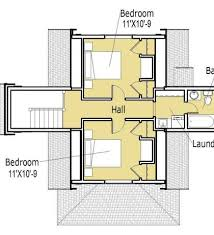 Modern House Plans Contemporary Home Designs Floor Plan - Small modern home designs