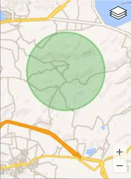 android geofence maps draw a circle geofence with preview in android