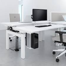 Height Adjustable Desk Electric by Elite Progress Electric Rectangular Height Adjustable Sit U0026 Stand