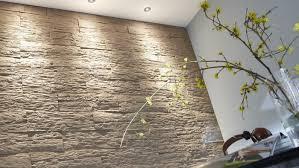 steinwand wohnzimmer beige steinwand im wohnzimmer 30 inspirationen klimex