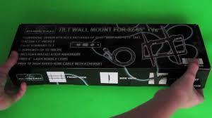Wall Mount 32 Flat Screen Tv Cheapest Tv Wall Mount Unboxing Cheetah 32