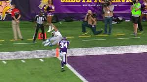 Flipping Vegas Fake by Golden Tate Went First Into The End Zone To Beat The Vikings