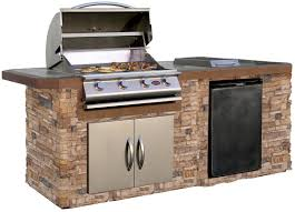 Backyard Grill 5 Burner Propane Gas Grill by Calflame 4 Burner Built In Propane Gas Grill With Cabinet