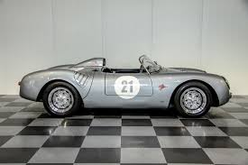 porsche 550 spyder dream garage sold carsporsche aci 550 spyder replica