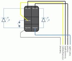 momentary rocker switch rocker switch wiring diagram led rocker