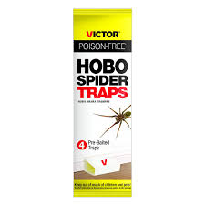 victor poison free victor poison free hobo spider pre baited traps 4 pack m293