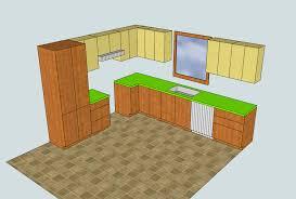 logiciel conception cuisine 3d plan cuisine 3d pour plan de interieur maison contemporaine moderne