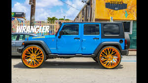 tiffany blue jeep clean jeep wrangler on 30 inch asanti wheels in hd must see