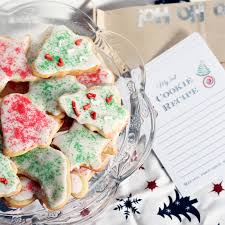 cookie exchange party free printables the country chic cottage