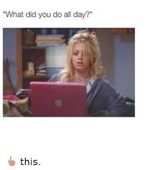 Do All The Meme - what did you do all day this funny meme on sizzle