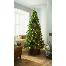 deluxe sherwood pre lit tree 7ft trees b m