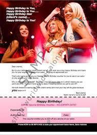 a4 poster special birthday gift voucher worldwide salon