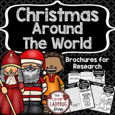 christmas around the world teaching ideas activities lessons and