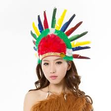 Native Indian Halloween Costumes Online Get Cheap Halloween Indian Hat Aliexpress Com Alibaba Group