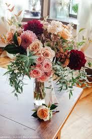 creativo loft wedding fall bouquet beautiful cascading