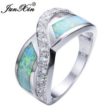Opal Wedding Ring Sets by Jewelry Rings Engagement Ring With Opal And Diamonds Set Leaf