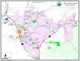 santa clarita map santa clarita valley map