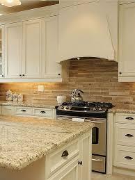 Kitchen Backsplash Ideas With Black Granite Countertops Black Cabinets With White Granite Kitchen Backsplash Brown