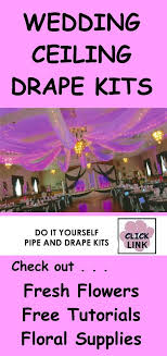 wedding backdrop lighting kit want a gorgeous reception check out diy pipe draping kits