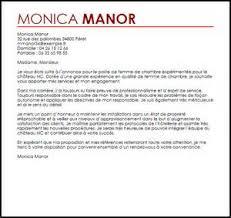 lettre motivation femme de chambre hotel lettre de motivation femme de chambre 1 exemple lettre de