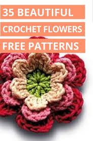 best 25 free crochet flower patterns ideas on pinterest