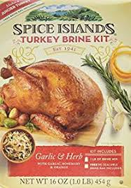 spice islands turkey brine kit 16 oz