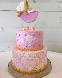 mesmerizing shabby chic baby shower cakes 77 for diy baby shower