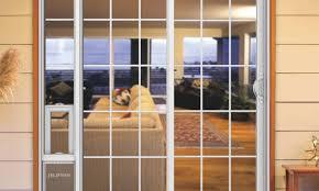 Custom Patio Umbrella by Door Photo Gallery Pgt Custom Windows Doors Awesome Dog Door In