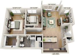 two bedroom apartments net zero village netzero village 2 br study artist s rendering for general reference only