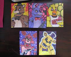 painting fnaf fnaf etsy