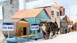 how to make a house cozy how to make a cosy cardboard cat house bt