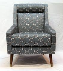 maverick reading chair in hermes fabric lounge chairs modern