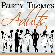 themes for adults entertaining