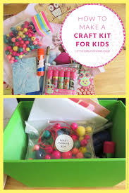 how to make a craft kit for kids craft kits craft and gift