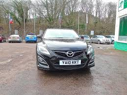 mazda 6 2 2d sport fdsh half leather heated keyless black