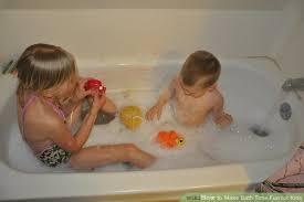 Bathtub Full Of Ice 3 Ways To Make Bath Time Fun For Kids Wikihow