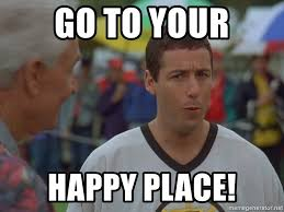 Happy Place Meme - go to your happy place happy gilmore bob meme generator