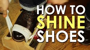how to shine your shoes the art of manliness youtube