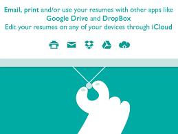 Resume Builder Google Drive Resume Designer Pro Produce Elegant Resumes Ipa Cracked For Ios