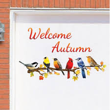 discount home decorating garage doors welcome autumn garager magnets discount home decor
