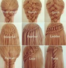 large hair pleats different types of pleats plaits and hairstyles braids