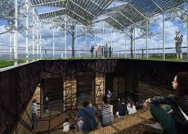 designs revealed for pavilion on mvrdv u0027s almere expo site