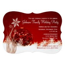 christmas party invitations christmas party invitations zazzle