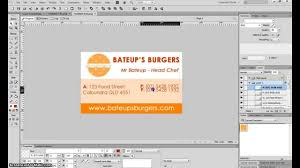 Make A Business Card How To Make A Business Card In Adobe Fireworks Cs6 Youtube