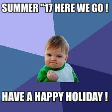 Holiday Meme - meme creator summer 17 here we go have a happy holiday meme